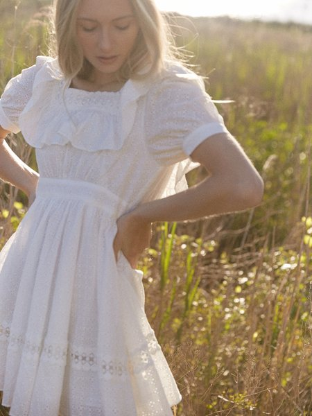 Sympathique Kinsley Dress - Ivory