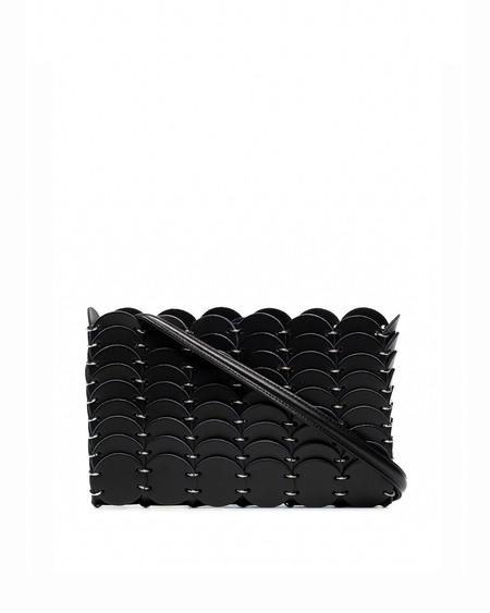 Paco Rabanne Leather Shoulder Bag - black