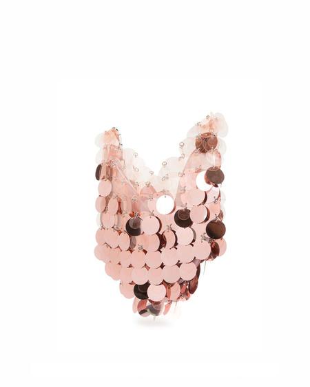 Paco Rabanne Hobo Bag - pink