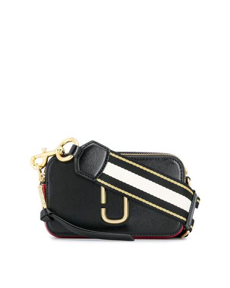 Marc Jacobs Snapshot Leather Bag - black