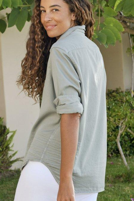 Frank & Eileen Denim Button Up shirt - Sage
