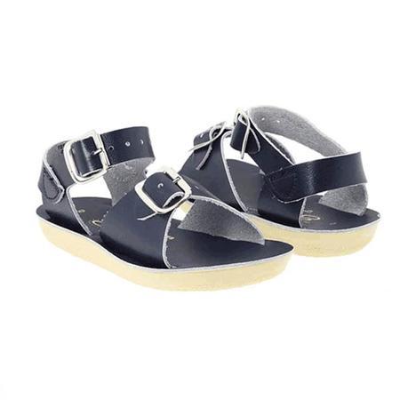 kids Saltwater Sandals Surfer Sandals - Navy Blue