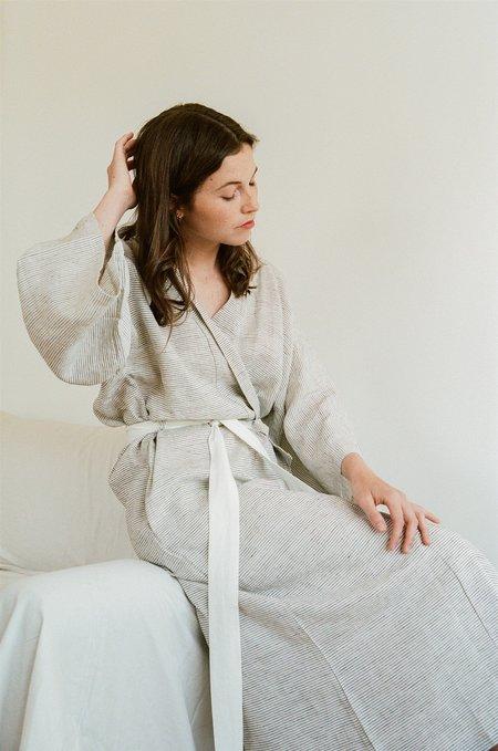 Deiji Studios The 02 Robe - Pinstripe