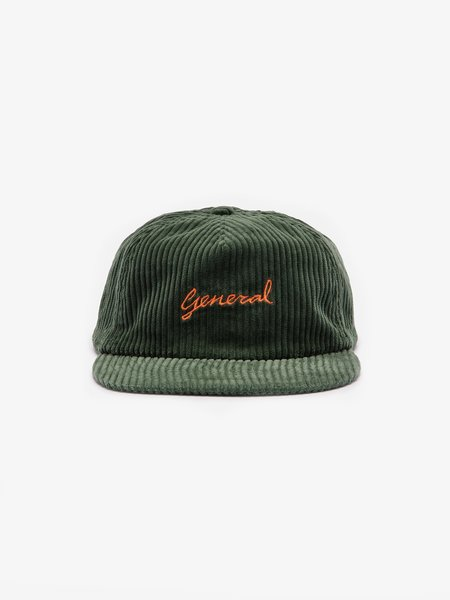 General Admission General Corduroy Unstructured Cap - green
