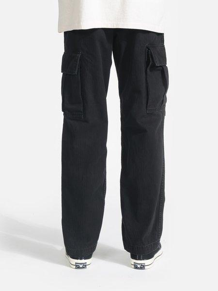 General Admission Herringbone Cargo Pant - Black