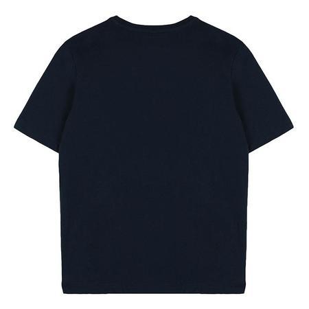 Kids Stella McCartney T-shirt With Logo Palm Tree Print - Navy Blue
