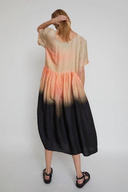 No.6 Gaya Dress - Pink/Black Dusk
