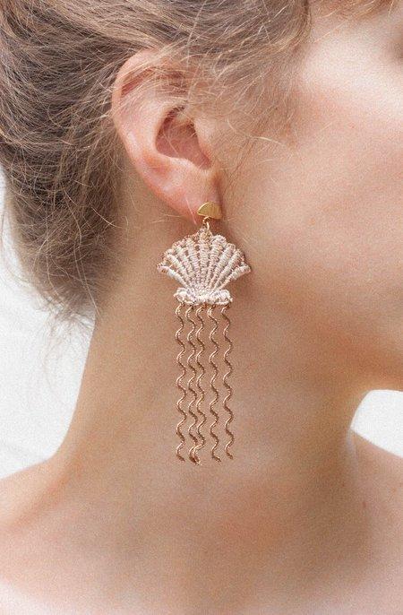 THIS ILK SHELL EARRINGS