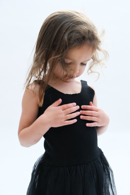 kids Raised By Water Summer Sienna Dress - Black