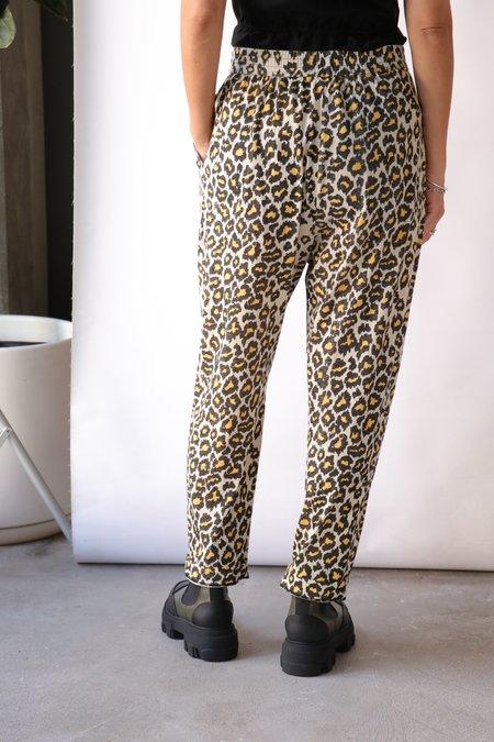 Raquel Allegra Sunday Pant - Leopard Print