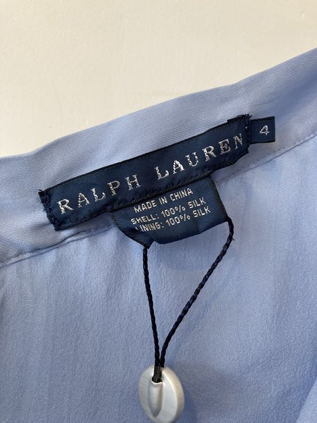 [Pre-loved] Ralph Lauren Pleated Skirt - Sky Blue