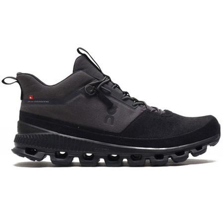 ON Running Cloud Hi Sneakers - Eclipse/Black
