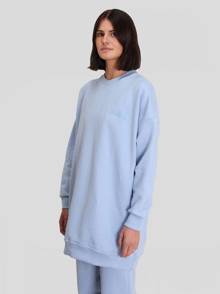 Ganni Oversized Sweatshirt - Heather