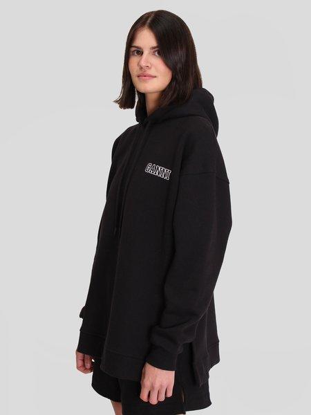 Ganni Software Isoli Oversized Sweatshirt - Black