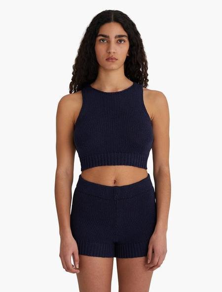 Paloma Wool Jigglypuff Knit Top - Navy