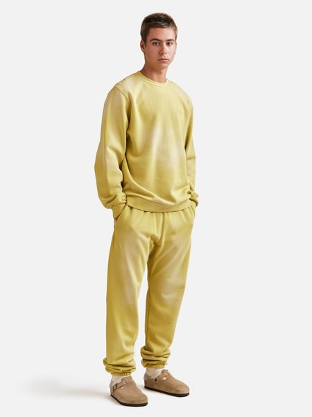 General Admission Sun Faded Sweatpant - Yellow