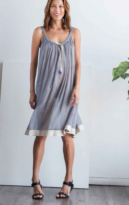 Two New York Grey tassel dress