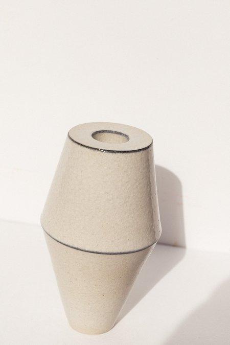 Alison Frith Ceramic Line Detail Sculpture - clear