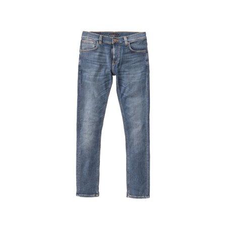 Nudie Jeans Tight Terry Steel Navy Jean - Blue