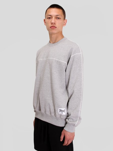 Reigning Champ Knit Heavy Wt Terry Everlast Crewneck sweater - H.Grey