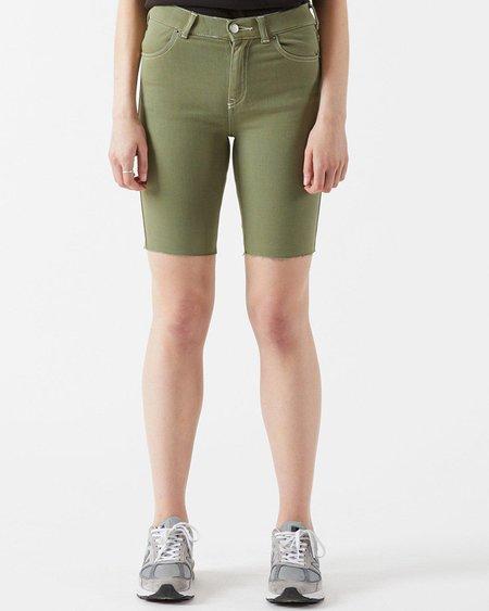 Dr. Denim Lexy Bicycle denim shorts - Green Agate