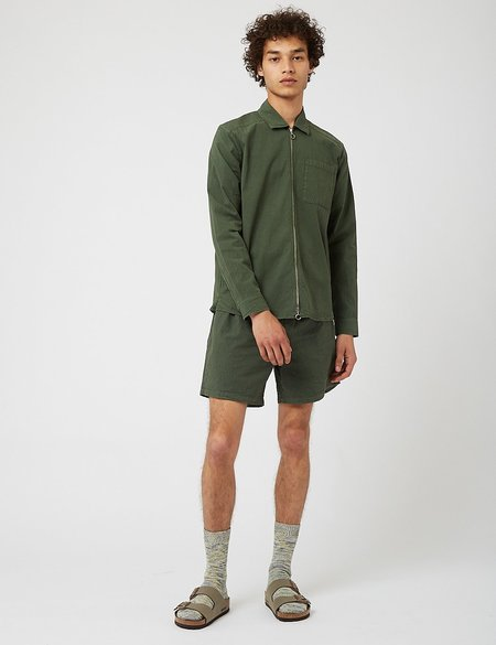 Bhode Zip Shirt - Green