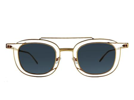 Thierry Lasry Gendery sunglasses - Clear/Gold