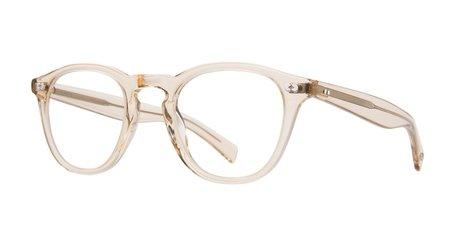 Unisex Garrett Leight Hampton X Glasses - Cream