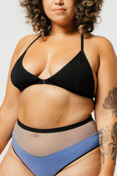 Mary Young Tate Bra - Black
