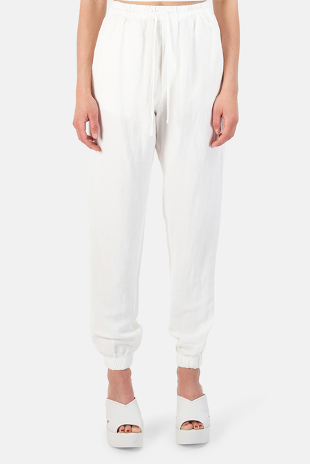 NSF Taylor Clean Easy Jogger Pants - White