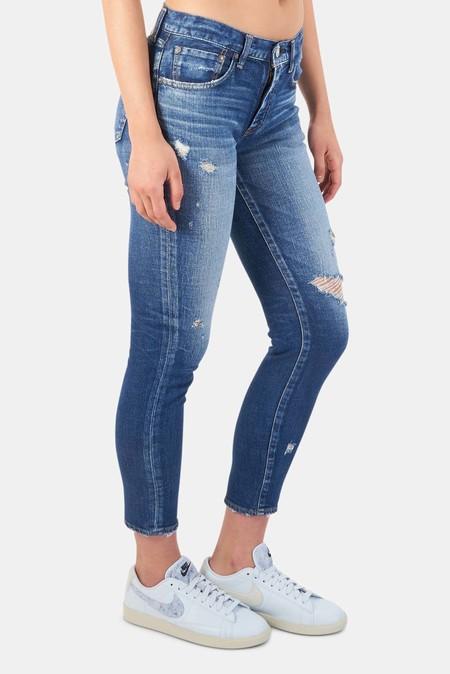 Moussy Vintage Gleedsville Skinny Pants - Dark Blue