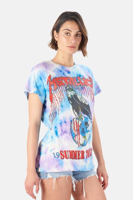 MadeWorn Rock Metallica Summer Tour '94 T-Shirt - Lightning