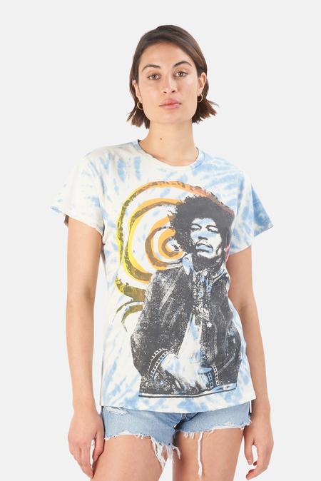 MadeWorn Rock Jimi Hendrix Voodoo T-Shirt - Cloud