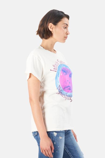 MadeWorn Rock Smashing Pumpkins Infinite Sadness Tour T-Shirt - Off White
