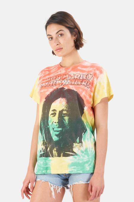 MadeWorn Rock Bob Marley Kaya T-Shirt - Jamaica