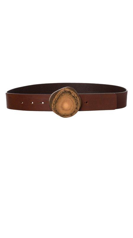 Dorothee Schumacher Chic Wilderness Belt - Brown Leather