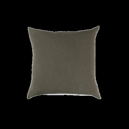 Hawkins New York Simple Linen Pillow - Olive