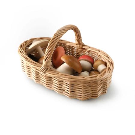 MOON PICNIC Forest Mushrooms Basket