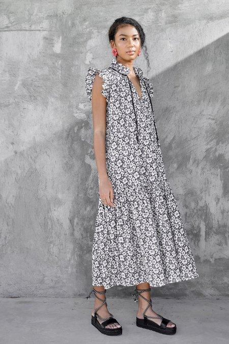 CHRISTY LYNN Willow Dress - Black Posey Print
