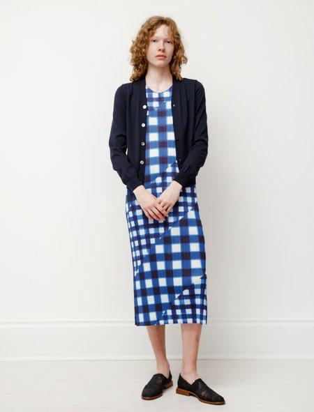 Comme des Garçons Cotton Knit Cardigan - Navy