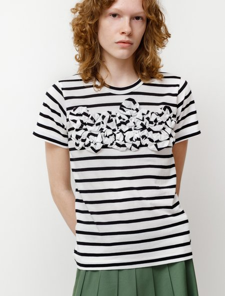 Comme des Garçons Rosebud Marinière T-Shirt