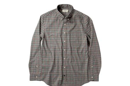 Taylor Stitch The Jack Shirt - Pebble Plaid