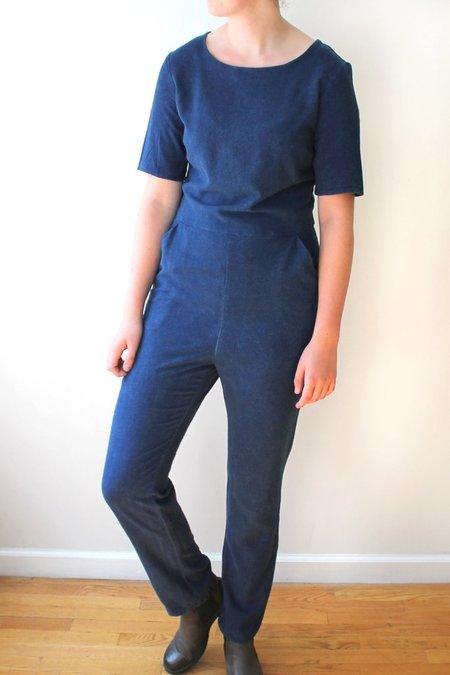 Colorant Raw Silk Universal Jumpsuit