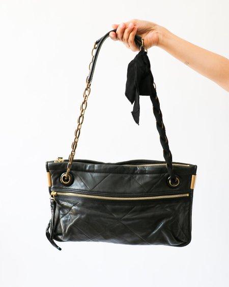 [Pre-loved] Lanvin Quilted Chain Strap Shoulder Bag