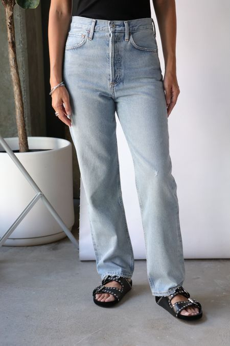 Agolde 90's Jean - Semi Tropic