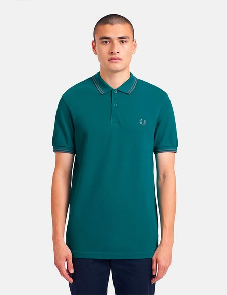 Fred Perry Twin Tipped Polo Shirt - green