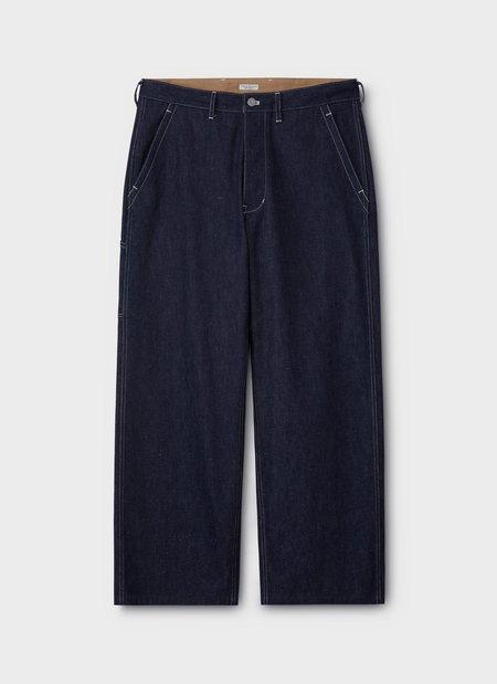 PHIGVEL MAKER & Co Denim Painter Trousers - Indigo Rigid
