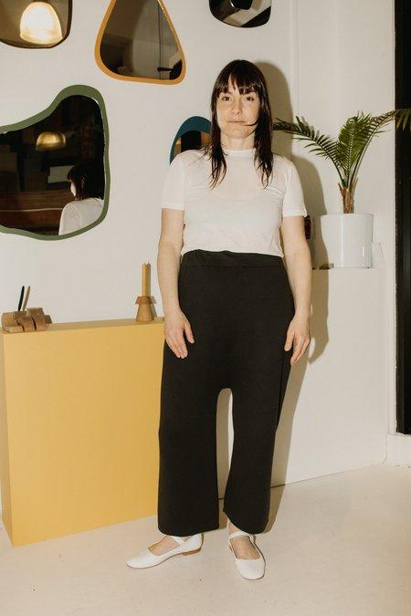 Lauren Manoogian Interlock Peg Pants - Carbon