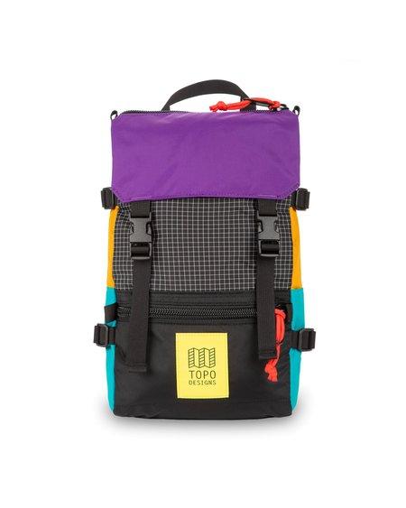TOPO DESIGNS Rover Pack Mini Backpack - Ripstop/Black/Purple