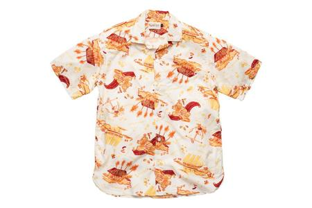 Freenote Cloth Hawaiian Shirt - White